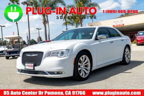2019 Chrysler 300 Limited for sale at Plug In Auto in Pomona CA