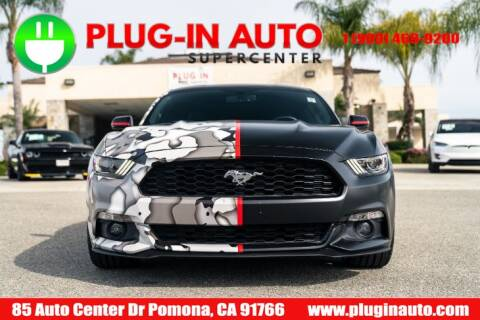 2015 Ford Mustang EcoBoost Premium for sale at Plug In Auto in Pomona CA