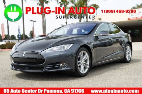 2015 Tesla Model S 85D for sale at Plug In Auto in Pomona CA
