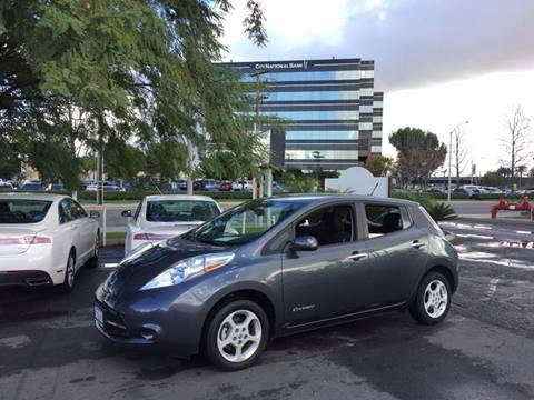 2013 Nissan LEAF for sale in Anaheim, CA
