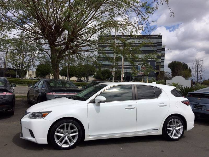 image hatchback lexus ct model