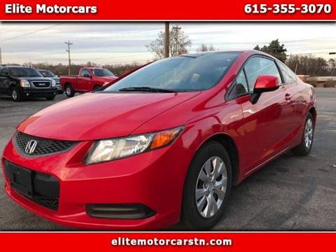 2012 Honda Civic for sale at Elite Motorcars in Smyrna TN