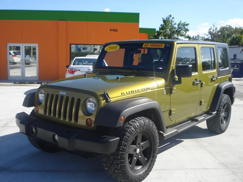 2008 Jeep Wrangler Unlimited X In Orlando Fl Galaxy Auto Service