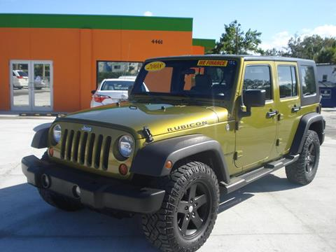 2008 Jeep Wrangler Unlimited for sale in Orlando, FL