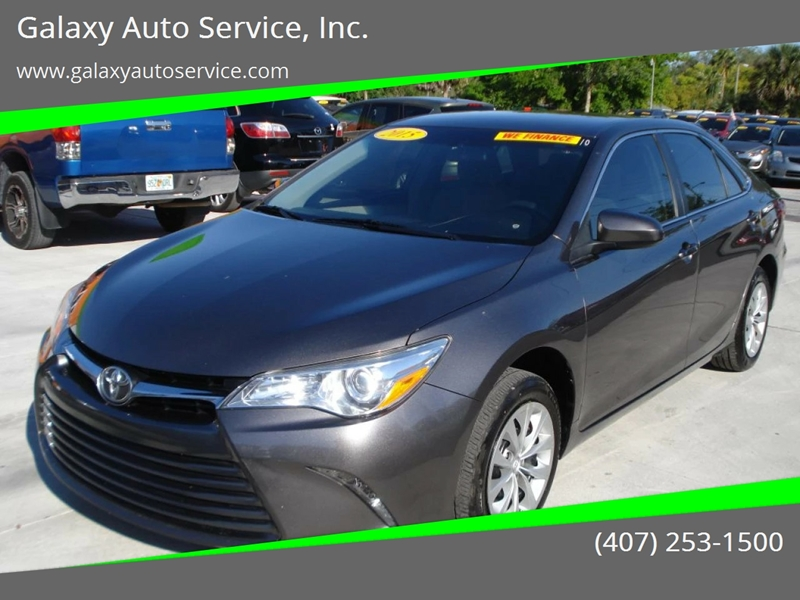 2015 Toyota Camry For Sale At Galaxy Auto Service, Inc. In Orlando FL