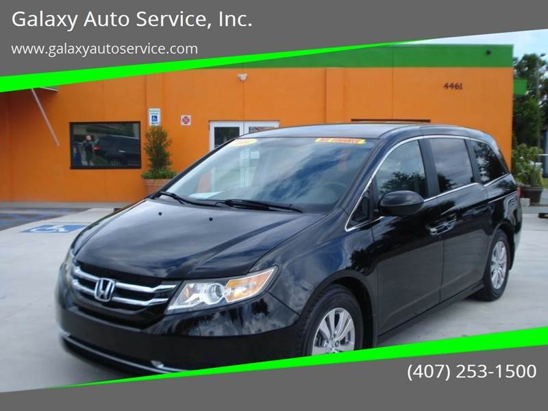 2014 Honda Odyssey For Sale In Orlando, FL