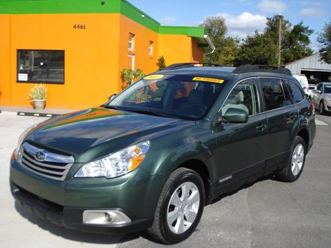 2011 Subaru Outback for sale at Galaxy Auto Service, Inc. in Orlando FL