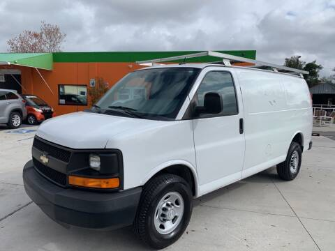 2015 Chevrolet Express Cargo 2500 for sale at Galaxy Auto Service, Inc. in Orlando FL