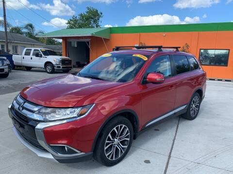 2017 Mitsubishi Outlander for sale at Galaxy Auto Service, Inc. in Orlando FL
