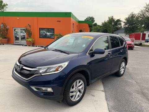 2015 Honda CR-V for sale at Galaxy Auto Service, Inc. in Orlando FL
