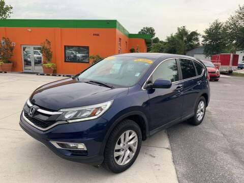 2015 Honda CR-V for sale at Galaxy Auto Service, Inc. in Orlando FL