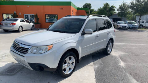 2010 Subaru Forester for sale at Galaxy Auto Service, Inc. in Orlando FL