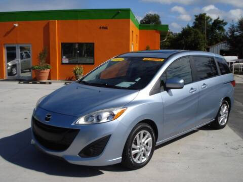 2012 Mazda MAZDA5 for sale at Galaxy Auto Service, Inc. in Orlando FL