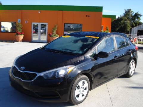 2016 Kia Forte for sale at Galaxy Auto Service, Inc. in Orlando FL