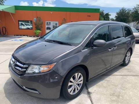 2015 Honda Odyssey for sale at Galaxy Auto Service, Inc. in Orlando FL