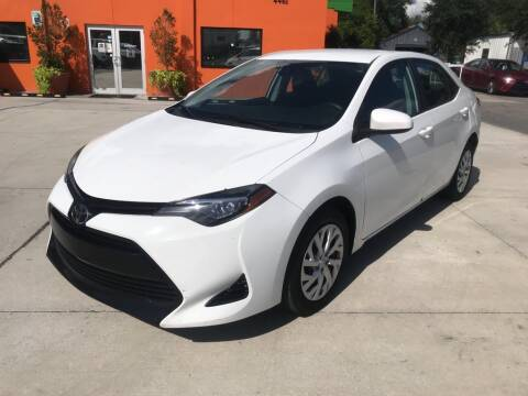2017 Toyota Corolla for sale at Galaxy Auto Service, Inc. in Orlando FL