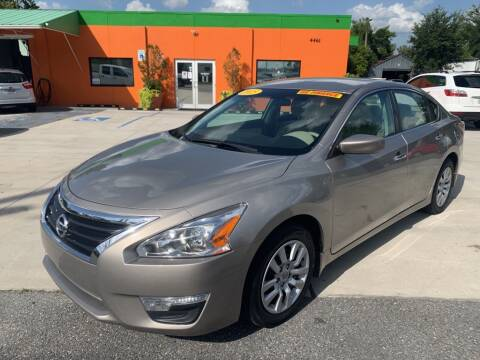 2015 Nissan Altima for sale at Galaxy Auto Service, Inc. in Orlando FL