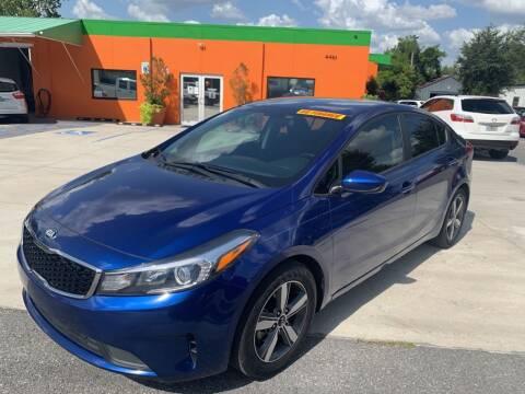 2018 Kia Forte for sale at Galaxy Auto Service, Inc. in Orlando FL