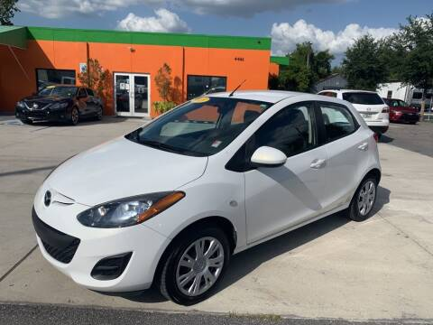 2013 Mazda MAZDA2 for sale at Galaxy Auto Service, Inc. in Orlando FL