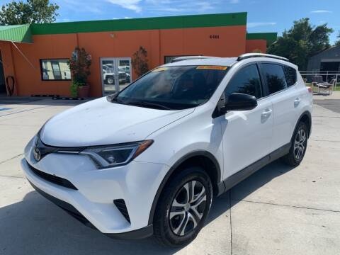 2017 Toyota RAV4 for sale at Galaxy Auto Service, Inc. in Orlando FL