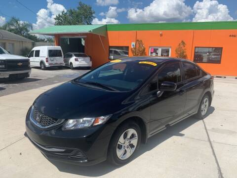 2015 Honda Civic for sale at Galaxy Auto Service, Inc. in Orlando FL