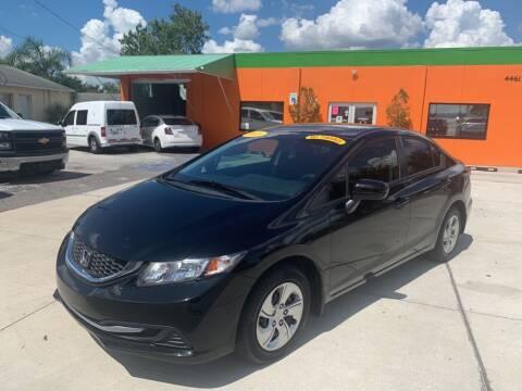 2015 Honda Civic for sale at Galaxy Auto Service, Inc. in Orlando FL