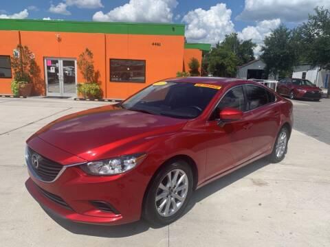 2017 Mazda MAZDA6 for sale at Galaxy Auto Service, Inc. in Orlando FL