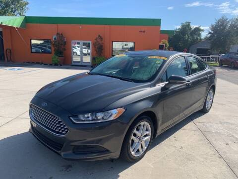 2016 Ford Fusion for sale at Galaxy Auto Service, Inc. in Orlando FL