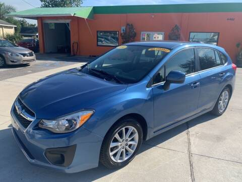2014 Subaru Impreza for sale at Galaxy Auto Service, Inc. in Orlando FL
