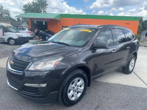 2016 Chevrolet Traverse for sale at Galaxy Auto Service, Inc. in Orlando FL