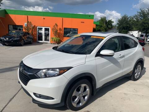 2016 Honda HR-V for sale at Galaxy Auto Service, Inc. in Orlando FL
