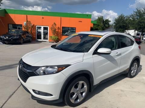 2016 Honda HR-V for sale at Galaxy Auto Service, Inc. in Orlando FL