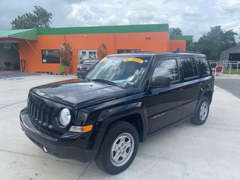 2015 Jeep Patriot for sale at Galaxy Auto Service, Inc. in Orlando FL
