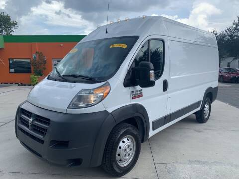 2016 RAM ProMaster Cargo for sale at Galaxy Auto Service, Inc. in Orlando FL