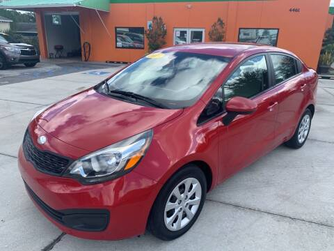 2013 Kia Rio for sale at Galaxy Auto Service, Inc. in Orlando FL