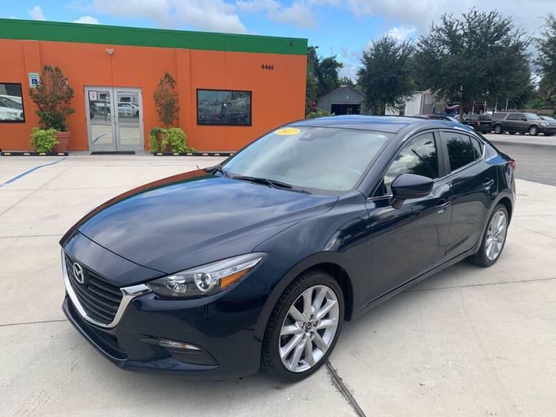 2017 Mazda MAZDA3 for sale at Galaxy Auto Service, Inc. in Orlando FL