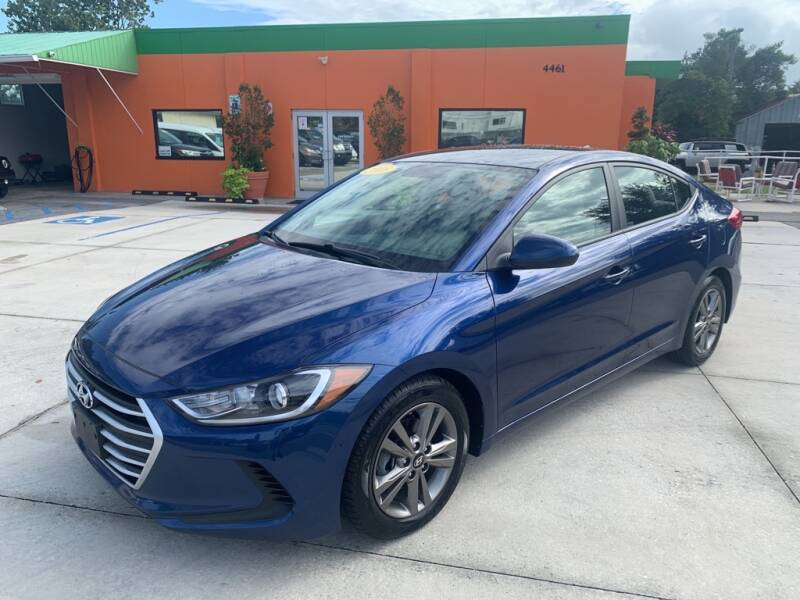 2018 Hyundai Elantra for sale at Galaxy Auto Service, Inc. in Orlando FL