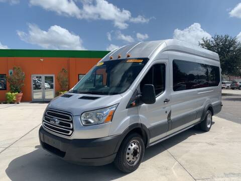 2015 Ford Transit Passenger for sale at Galaxy Auto Service, Inc. in Orlando FL
