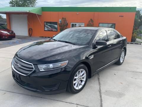 2015 Ford Taurus for sale at Galaxy Auto Service, Inc. in Orlando FL
