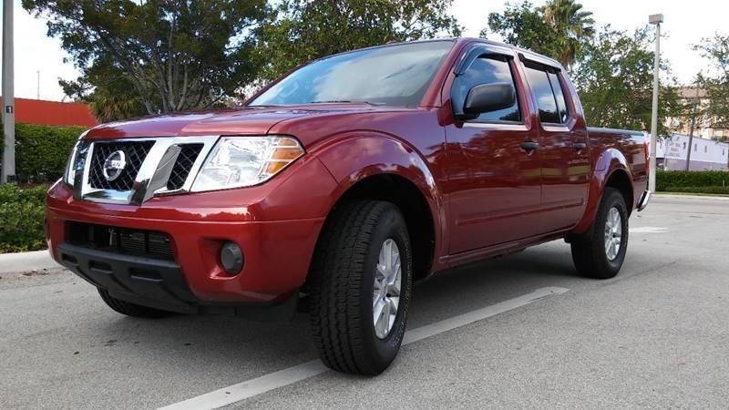 2016 Nissan Frontier for sale at AUTO BENZ USA in Fort Lauderdale FL