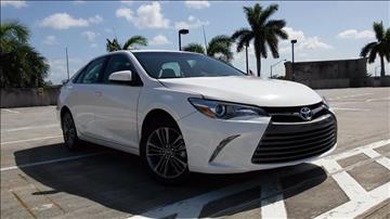 2017 Toyota Camry for sale at AUTO BENZ USA in Fort Lauderdale FL