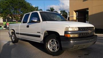 2002 Chevrolet Silverado 1500 for sale at AUTO BENZ USA in Fort Lauderdale FL
