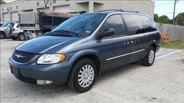 2002 Chrysler Town and Country for sale in Fort Lauderdale, FL