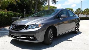 2015 Honda Civic for sale at AUTO BENZ USA in Fort Lauderdale FL