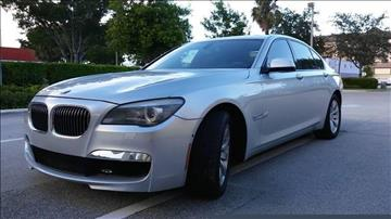 2010 BMW 7 Series for sale in Fort Lauderdale, FL