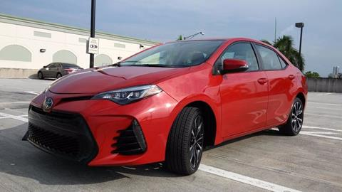 2017 Toyota Corolla for sale at AUTO BENZ USA in Fort Lauderdale FL