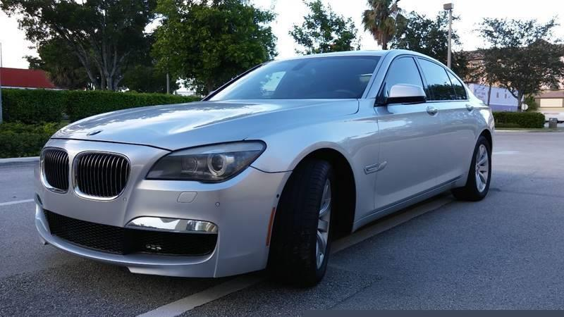 2010 BMW 7 Series for sale at AUTO BENZ USA in Fort Lauderdale FL