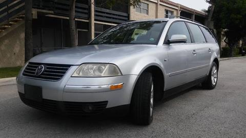 2004 Volkswagen Passat for sale at AUTO BENZ USA in Fort Lauderdale FL