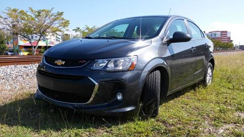 2017 Chevrolet Sonic for sale at AUTO BENZ USA in Fort Lauderdale FL