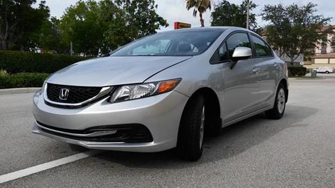 2013 Honda Civic for sale at AUTO BENZ USA in Fort Lauderdale FL